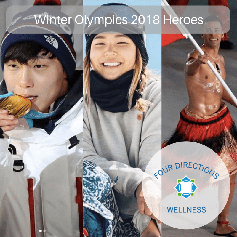 Winter Olympics 2018 Heroes - Four Directions Wellness