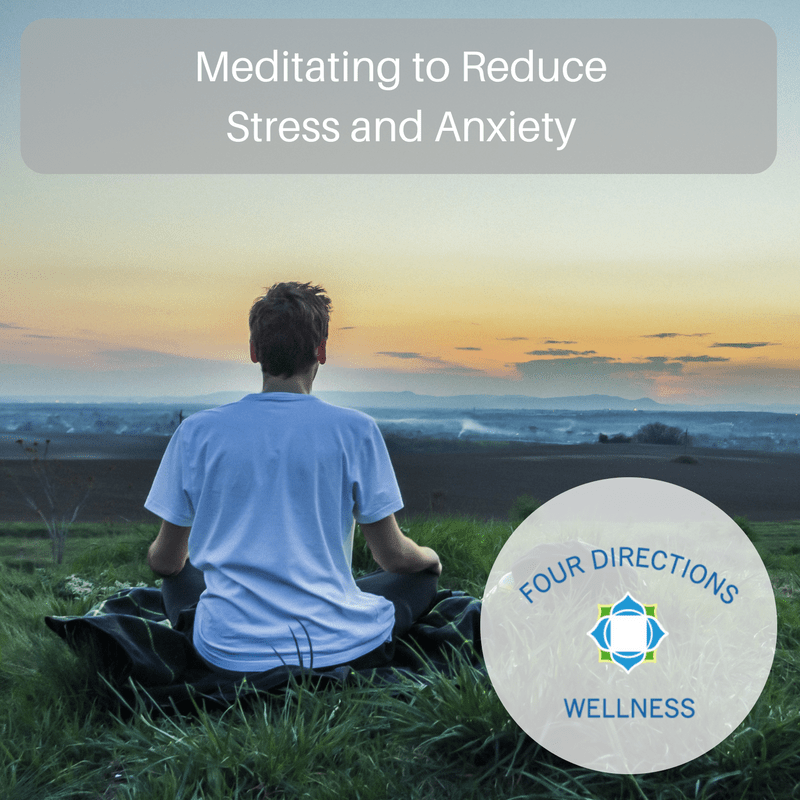 Meditating to Reduce Stress and Anxiety