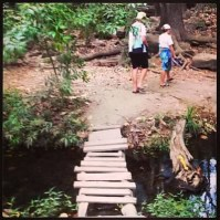 """rickety bridges that I had to put on my """"adventure pants"""" for in Costa Rica."""