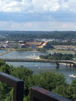 Pittsburgh. where the rivers meet. We had our wedding reception.