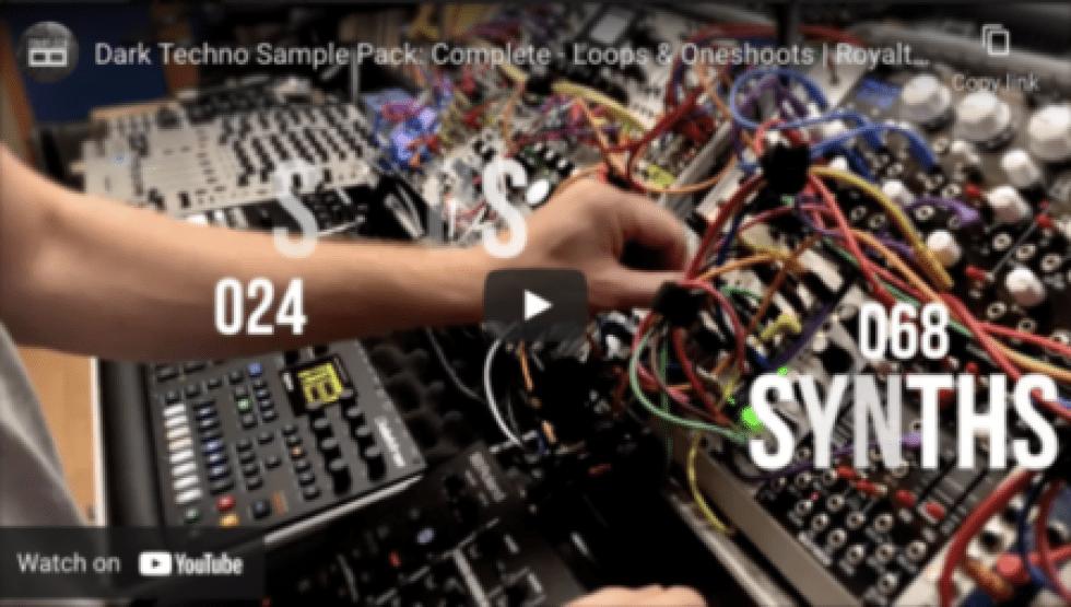 Dark Techno Sample Pack