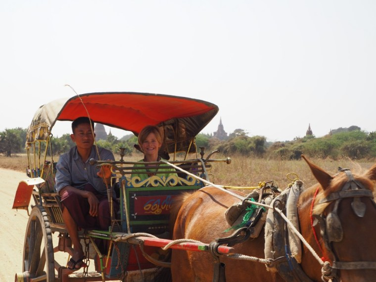 Through Bagan by Horsecart