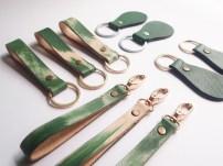 Kantan Series / Pear Shaped Key Holder - Emerald Green, MYR 35