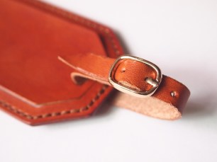 Luggage Tag (front strap)