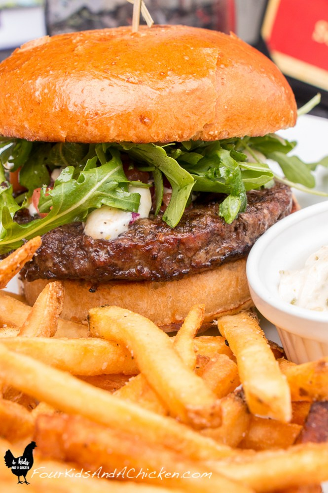 This burger is part of the perfect day trip from greenville
