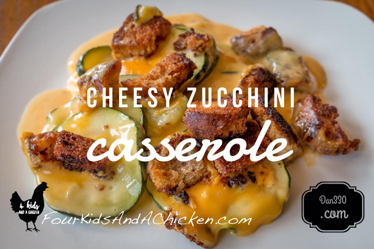 Grandma's Baked Zucchini Casserole