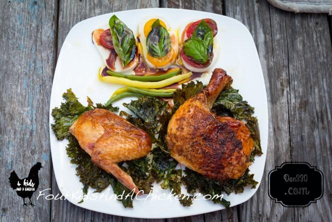 cast iron grilled chicken