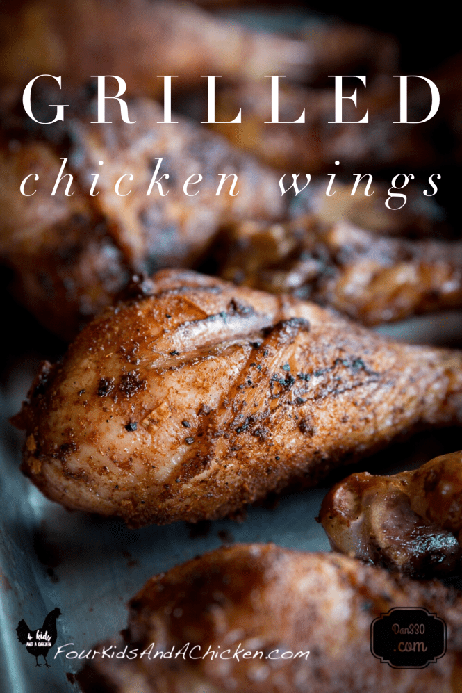 dry rub grilled chicken wings