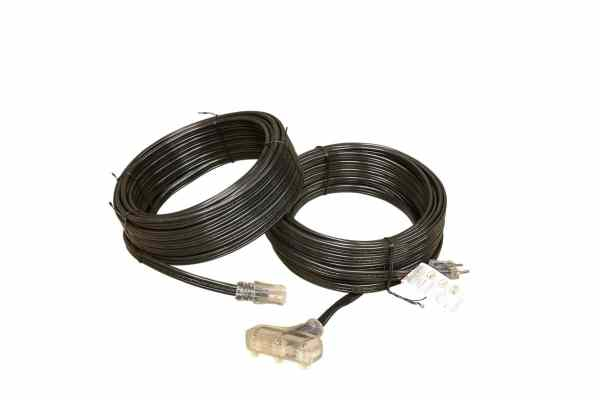 12 GAUGE SPT-3 FLAT EXTENSION CORD SINGLE AND TRIPLE TAP LIGHTED ENDS-CONVENTION CORDS