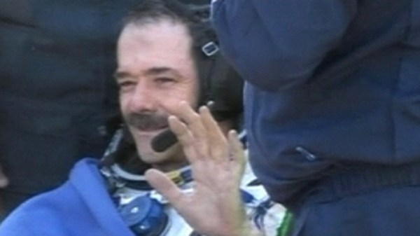 Astronaut Chris Hadfield: Boy, that was quite a ride home ...