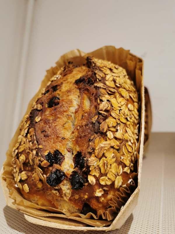 Photo pain aux fruits sec