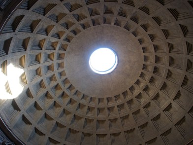 the oculus of the Pantheon
