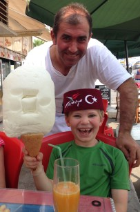our favorite ice cream man goofing around
