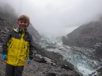 Miles at Fox Glacier