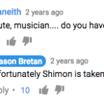 shimon robot comment