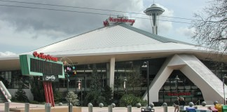 Seattle's KeyArena looking kind of grubby