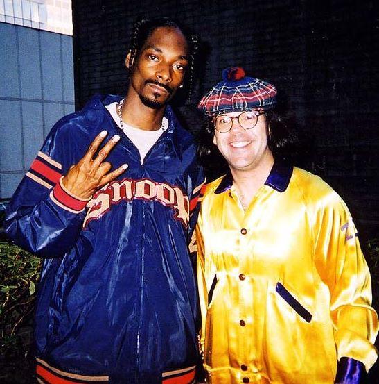 Nardwuar and Snoop Dogg