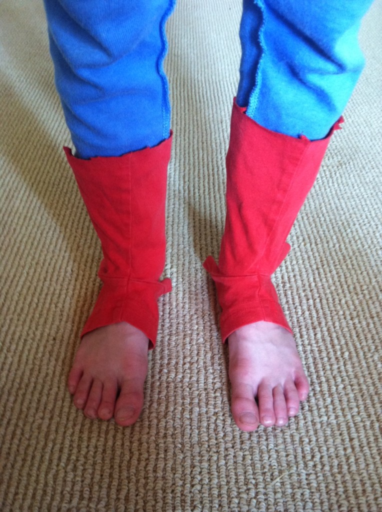 How To Make A No Sew Spiderman Costume Four Plus An Angel