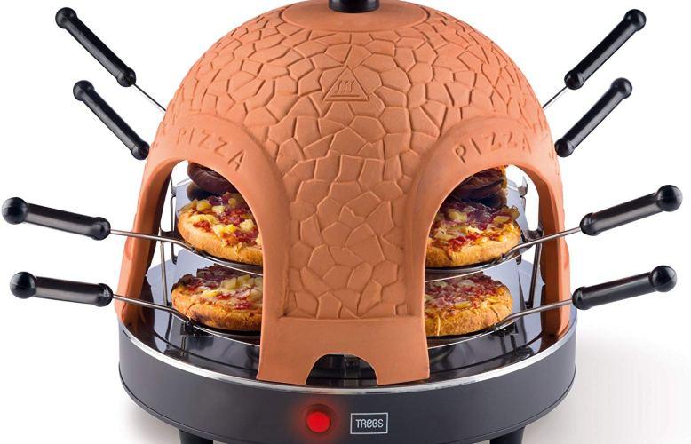 TREBS 99301 PizzaGusto four à pizza marron
