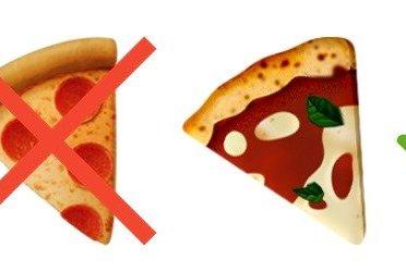 Italie : une pétition pour changer l'émoji Pizza