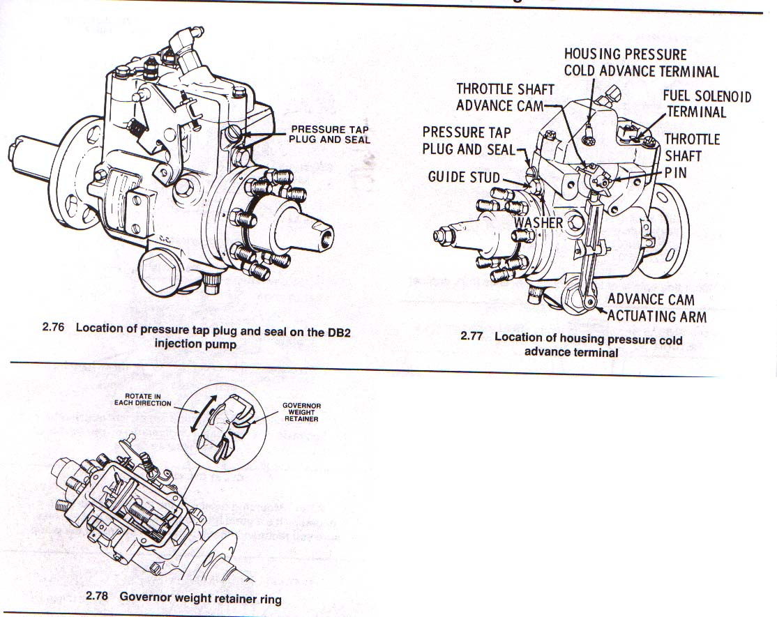 Db2 Retrofit Mechanical Injector Pump In 98