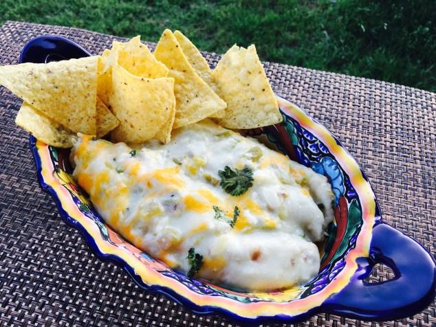Chicken Blanco Enchiladas