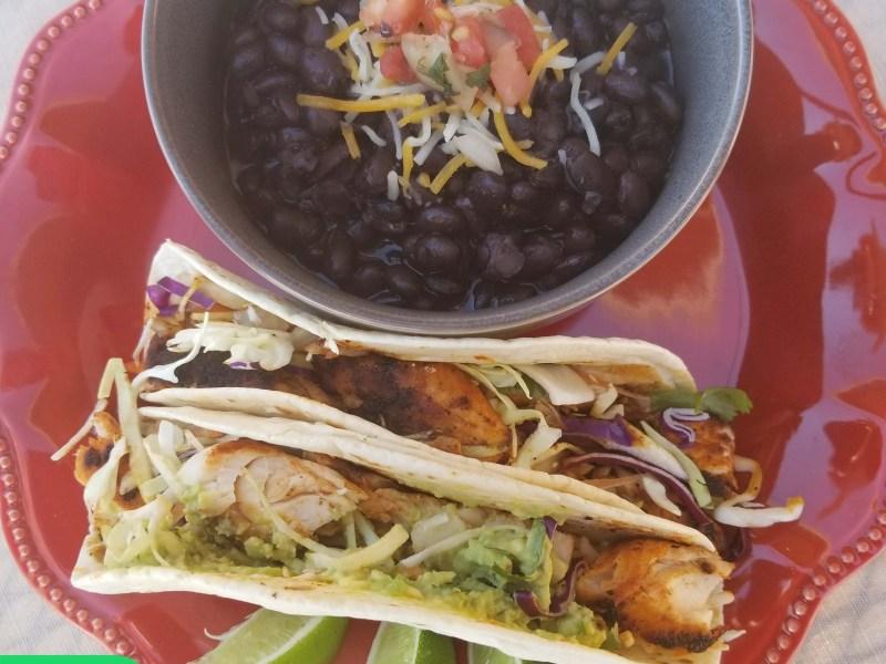 Mahi Mahi Blackened Fish Tacos
