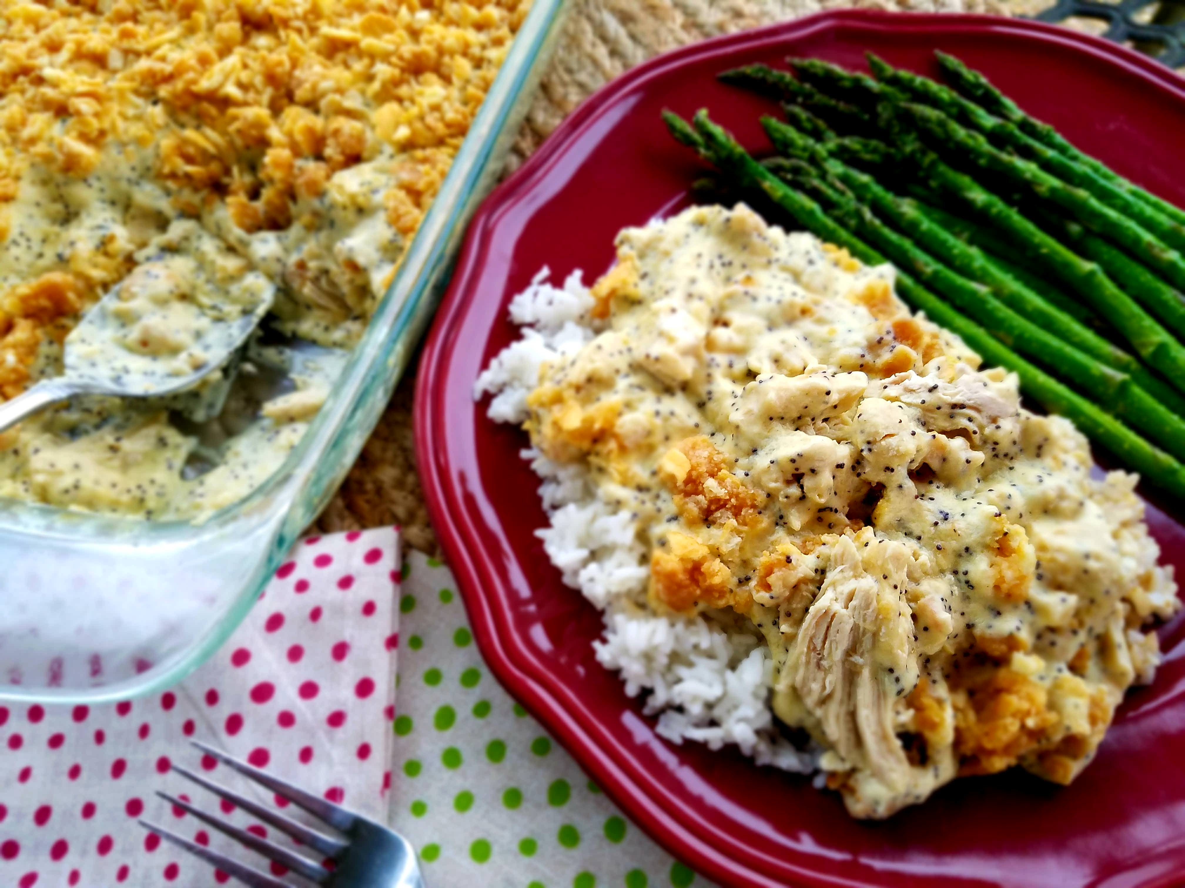 Poppy Seed Chicken – Lightened Up