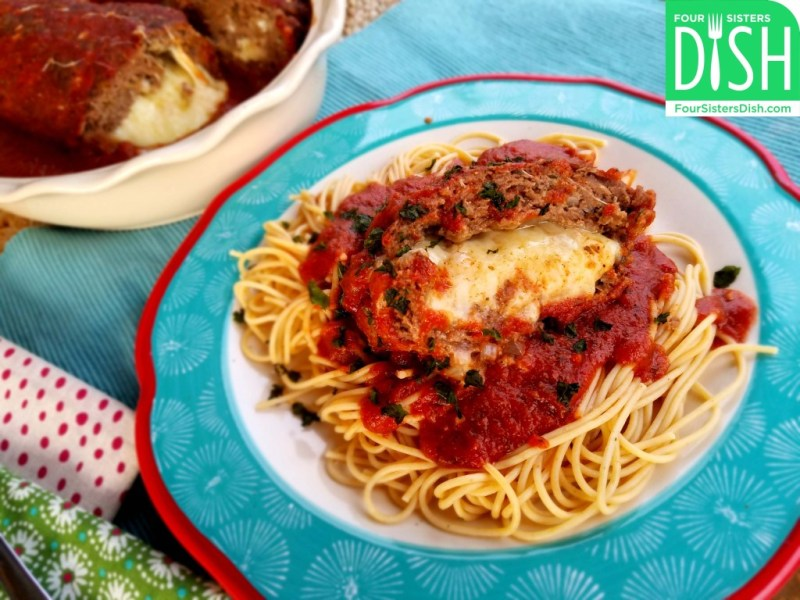 Italian Cheese Stuffed Meatloaf