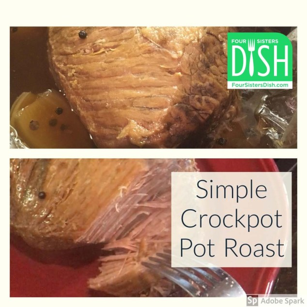 Simple Crockpot Pot Roast