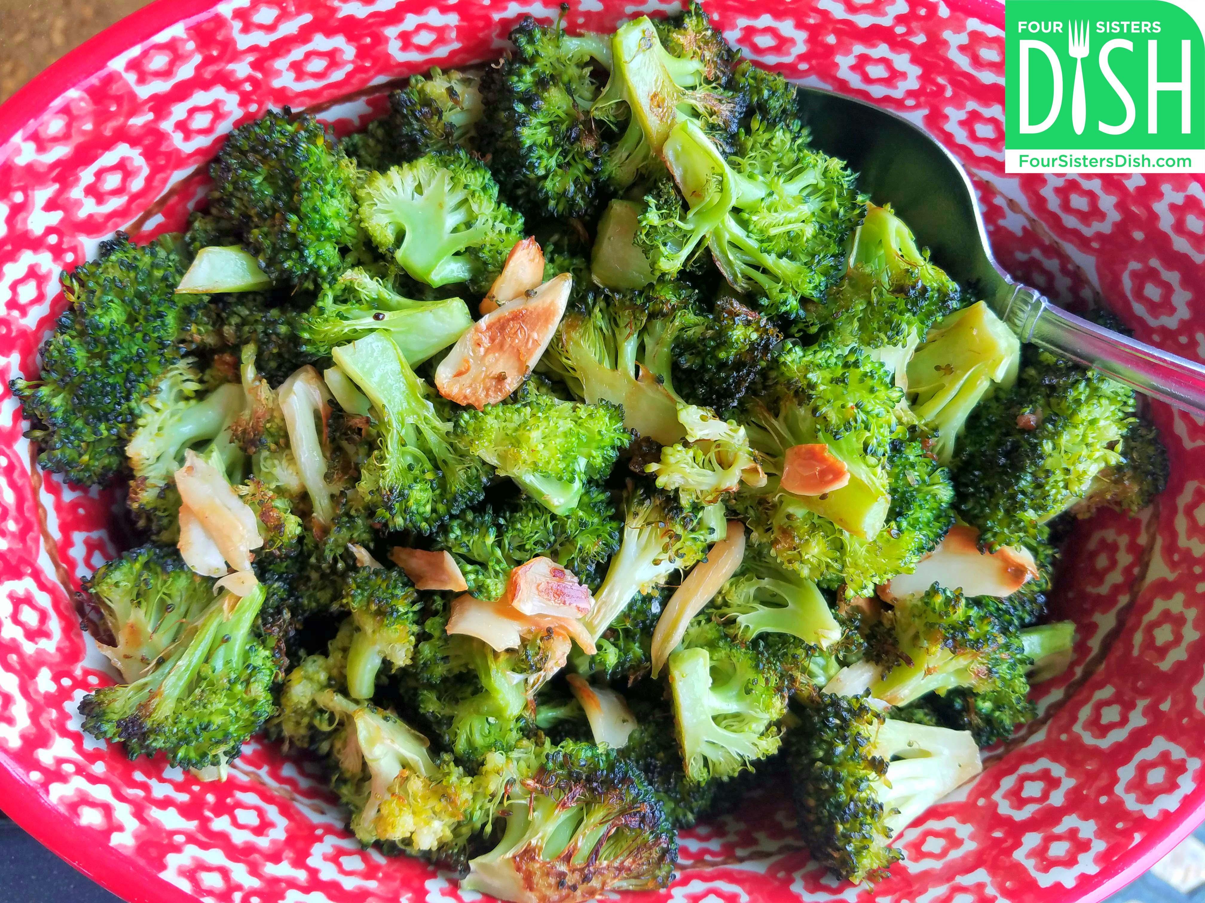 Roasted Broccoli & Garlic