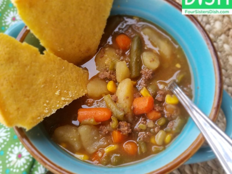 Slow-cooker Hobo Stew