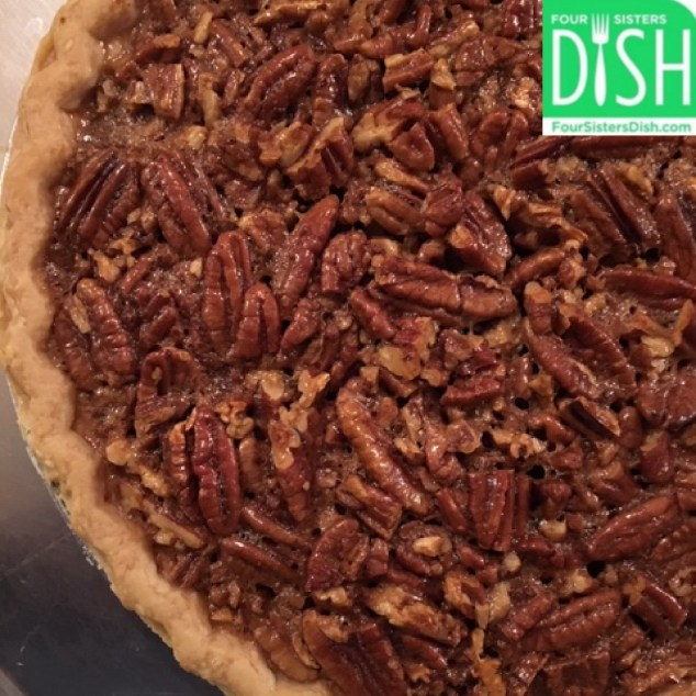 Perfect Pecan Pie from Four Sisters Dish