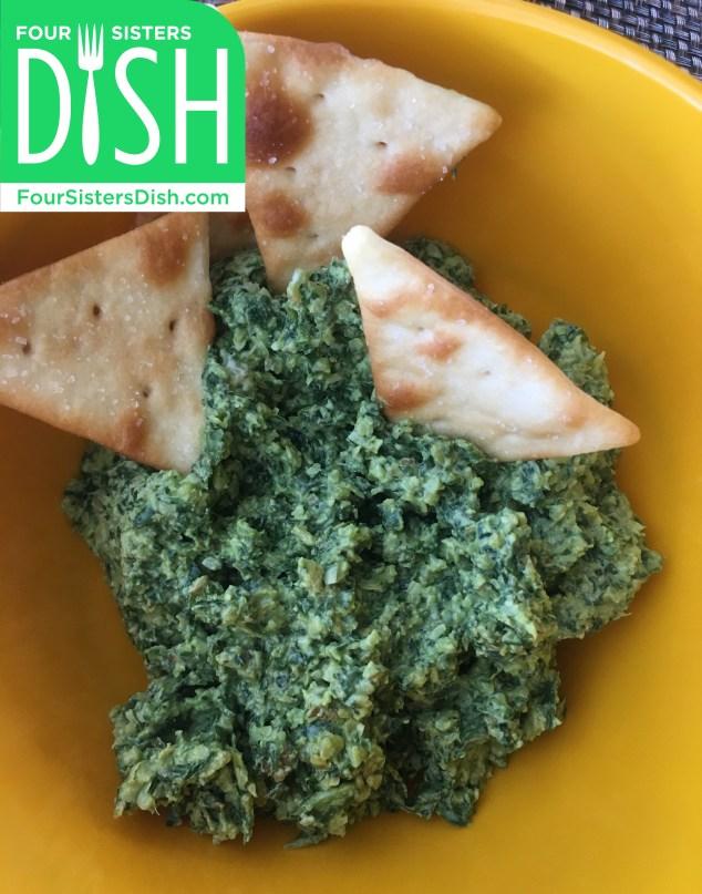 Spinach Basil Pesto Spread