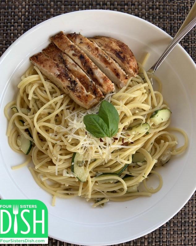Lemon Zucchini Pasta