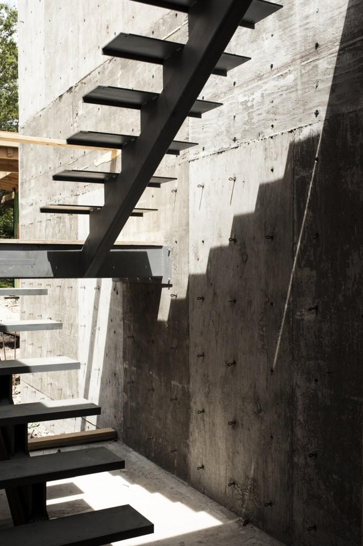 steel, concrete