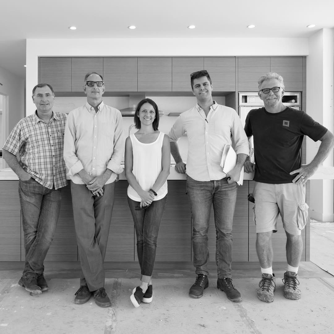 Design/Build Team: Foursquare Builders and Dick Clark Architecture. Great moments of gratitude being shared over a great design and an exceptional execution.