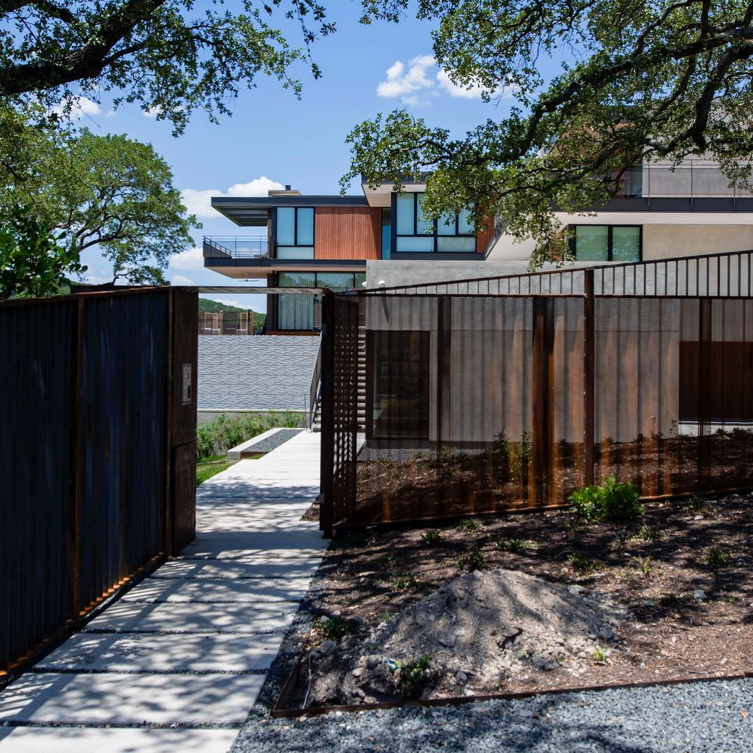 Enty gate wrapped up!! Built by @foursquarebuilders Photo by @redpantsstudio