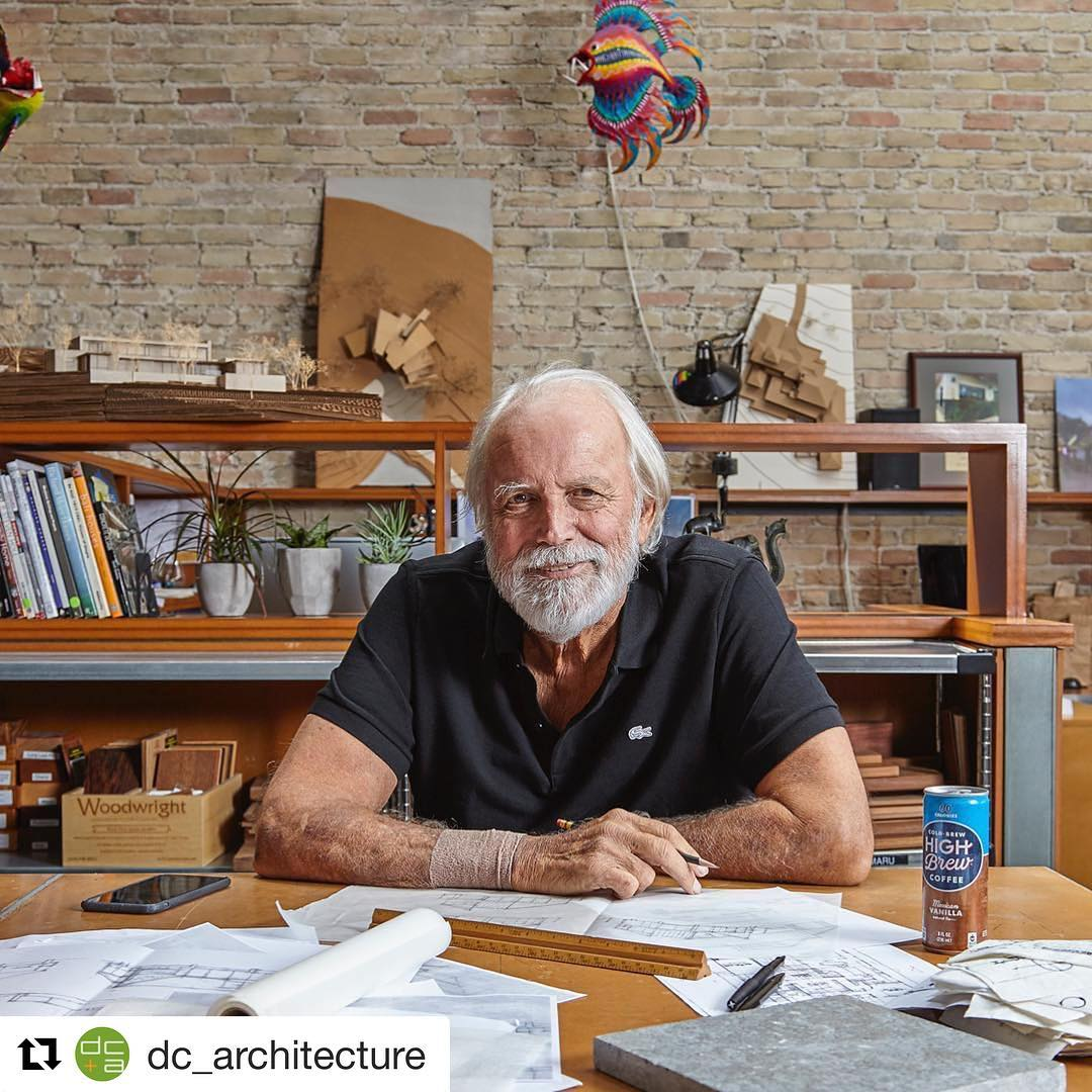 A true architectural icon will be missed in Austin. Rest In Peace our dear friend. We send our heartfelt love and support to the entire DC+Architecture team.