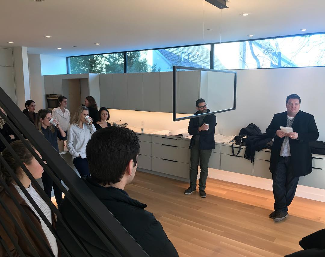 @dc_architecture office meeting this morning at our Castle Hill project. Built by @foursquarebuilders Designed by @dc_architecture