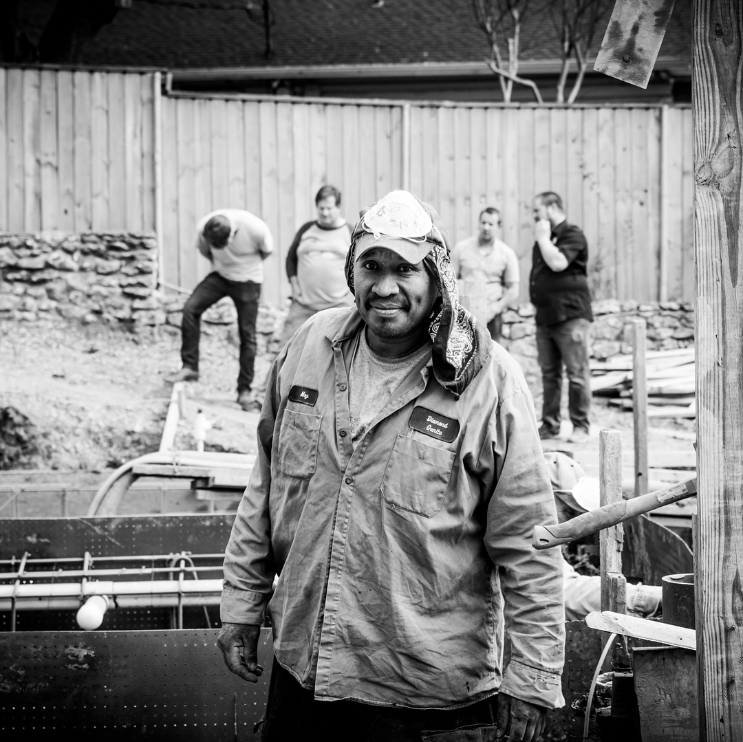 The Foursquare Builders team gives thanks for all the hard working men and women that make our clients home a special place. Thank you to our Austin building community and Happy Thanksgiving to you and your families. Photos by @redpantsstudio