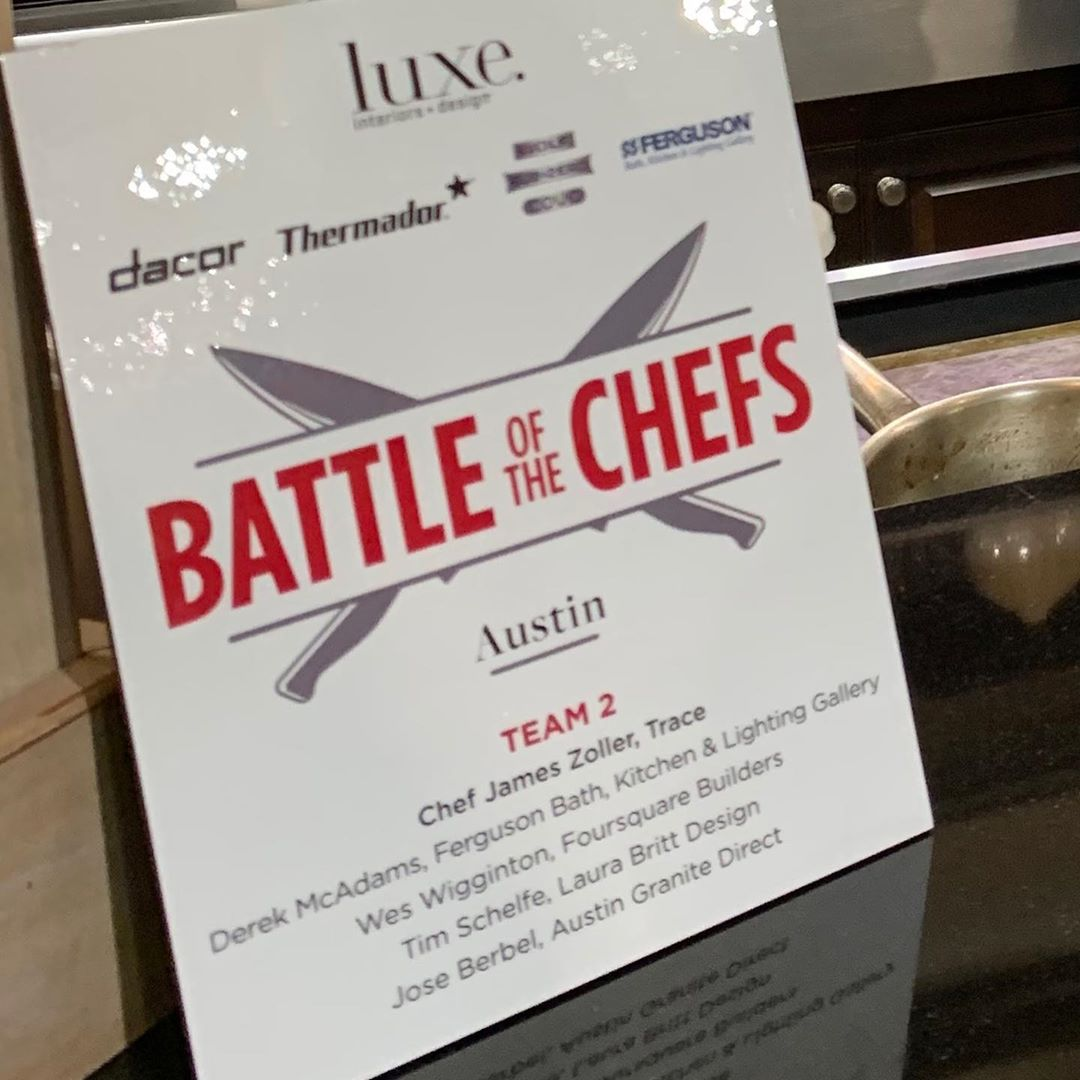 So fun to be a part of Luxe magazines first ever Battle of the Chefs in Austin, TX. So glad we could raise money for @wondersnworries  Thank you to Chef @jzoller of @traceatx for guiding us last night.