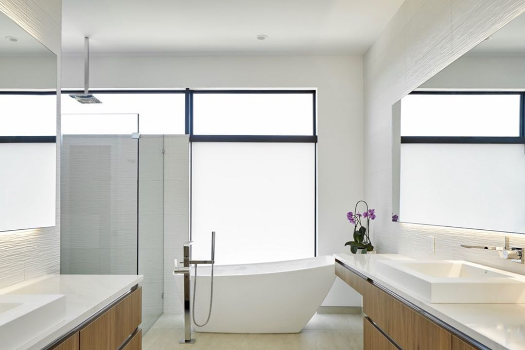 Well executed master bath by the Foursquare team. Great to work with @lankerani_architecture on this design.