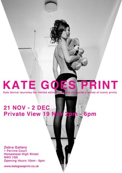 Kate Goes Print