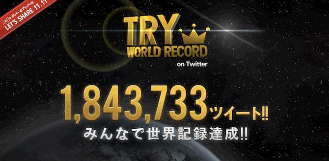 Twitter World Record