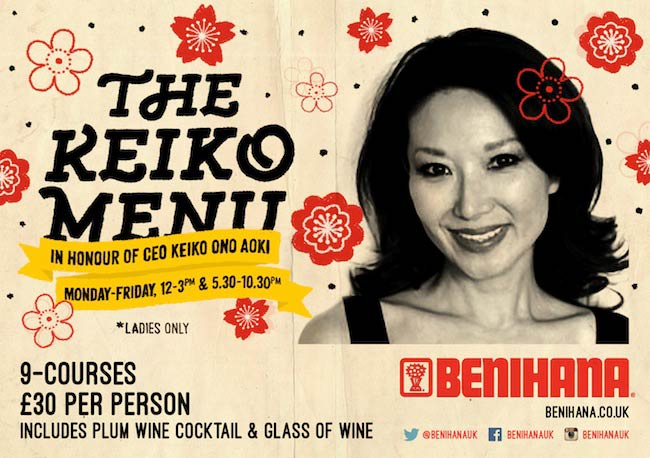 Keiko Menu