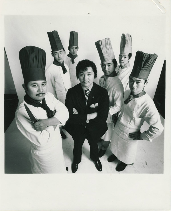 Rocky and Chefs