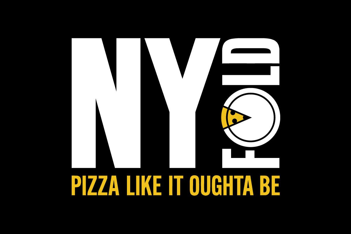 Pizza Logo Strapline Black