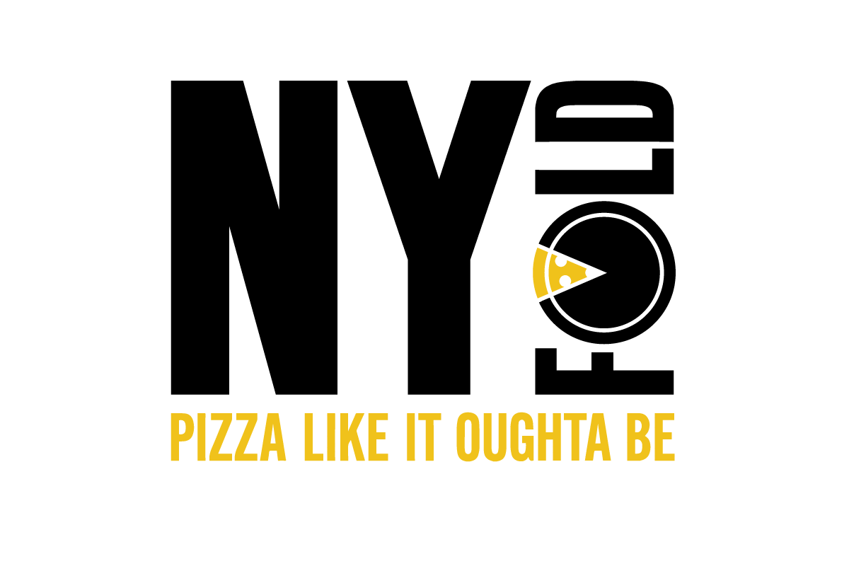 Pizza Logo Strapline White
