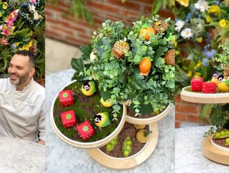Square Strawberries & Mini Peas In The Pod
